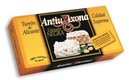 Turron Alicante Etiqueta Negra 200 g