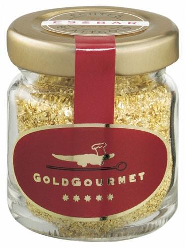 Goldflocken 22 Karat, GoldGourmet 1g