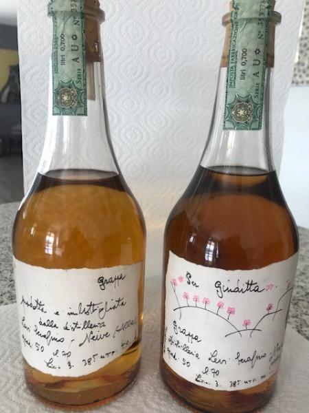 Original Grappa Romano Levi (1994) 2 Flaschen