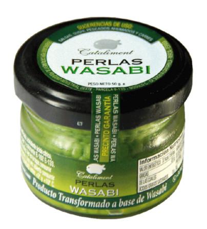 Wasabi Perlen / kühl lagern / conserver au frais 50 gr