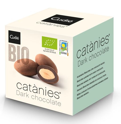 Catanies Dark chocolate (dunkle Schokolade) BIO 80 gr