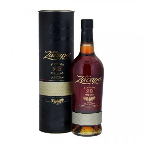Rum Zacapa No. 23 Gran Reserva Sistema Solera 70cl 40%