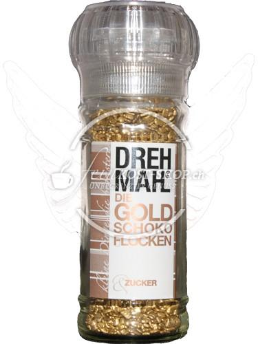 Drehmahl Gold Schoko Flocken