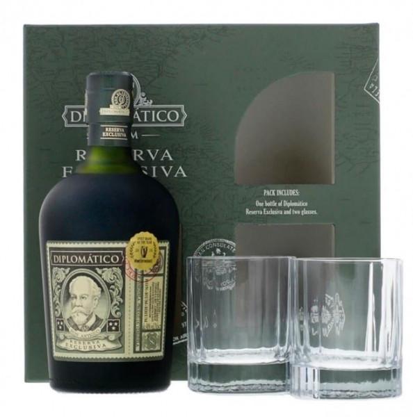 Rum Diplomatico Reserva Exclusiva, Old Fashioned Set