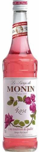 Monin Aromasirup Rose 70cl