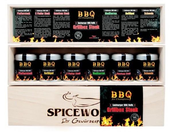 BBQ 4 Champions - Grillbox Steak
