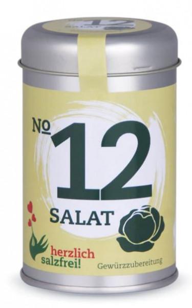 Nr. 12 Salat herzlich salzfrei - Gewürz ohne Salz