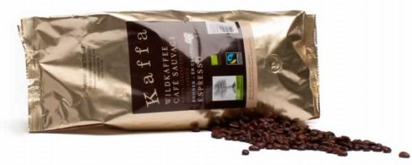 Kaffa Wildkaffee Espresso ganze Bohnen 1000g