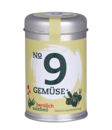 Nr. 9 Gemüse herzlich salzfrei - Gewürz ohne Salz 30 gr