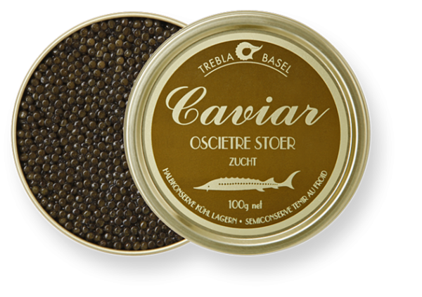 OSCIÈTRE-CAVIAR, A 200 g