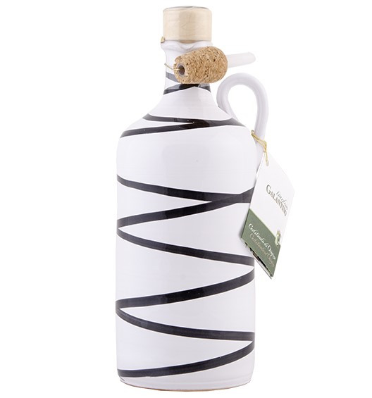 Olivenöl Tonkrug Bianco/Nero 50cl