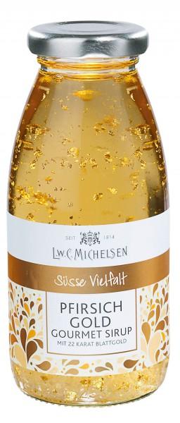 Gourmet-Sirup: Gold-Pfirsich 350g