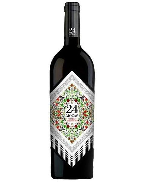 24 Mozas Rotwein 75 cl