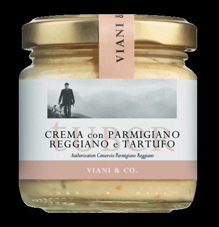 Crema aus Käse mit weißem Frühlingstrüffel 90 g