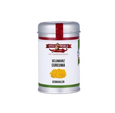 Curcuma - Gelbwurz - gemahlen - 90g Streudose
