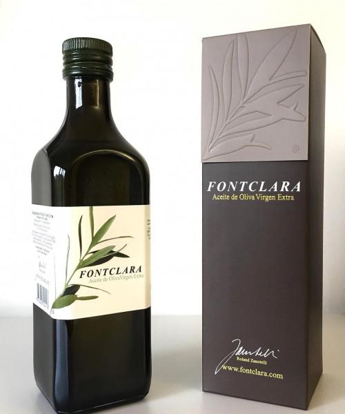 Fontclara Argudell (autochthone Olivensorte) Olivenöl extra vergine 50 cl