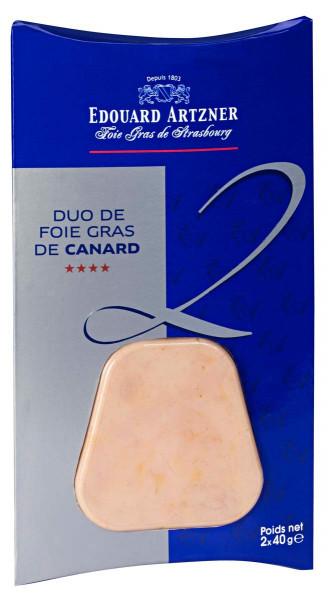 Entenleberbloc Duo 2 x 40 g, Frankreich