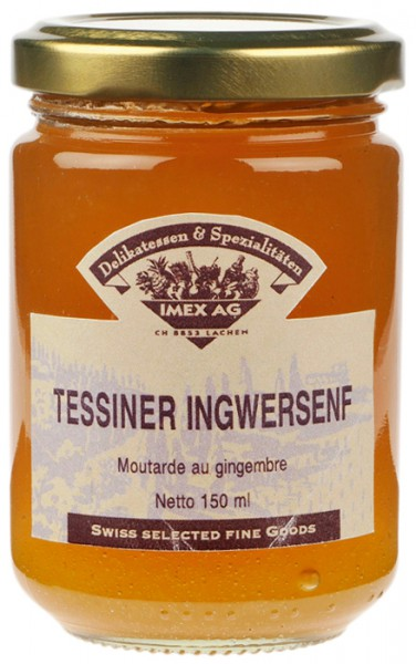 Tessiner Ingwersenf 150ml