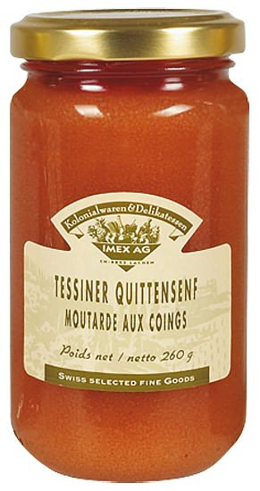 Tessiner Quittensenf 200ml