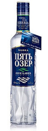 "Vodka ""Fives Lakes"" Sibirien 70cl"