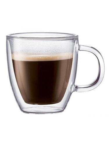 Glas Bistro doppelwandig 2St 0.15Liter Bodum 10602-10