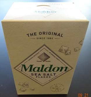 Salzflocken Maldon 250g
