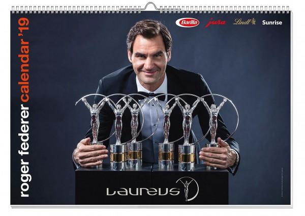 Roger Federer Kalender 2019