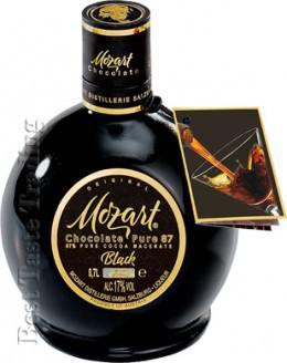MOZART Black Chocolate Pure 87 70cl