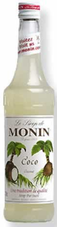 Monin Aromasirup Kokosnuss 70cl