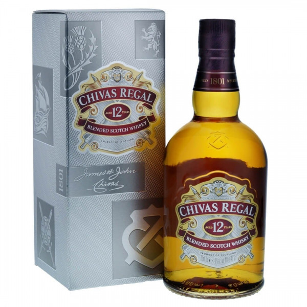 Chivas Regal 12 Years Blended Scotch Whisky mt Etui 70cl