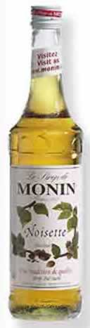 Monin Aromasirup Haselnuss 70cl