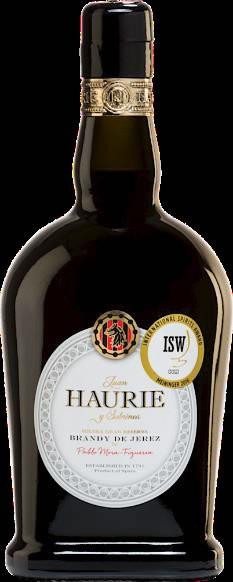 Brandy Haurie Jerez 40% Vol.