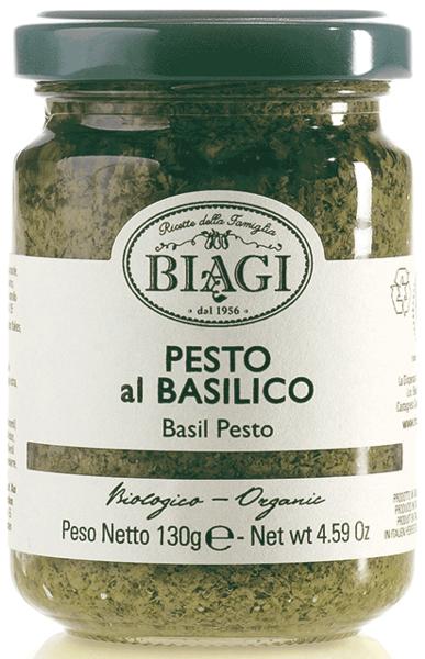 Pesto al basilico BIO, 130 ml