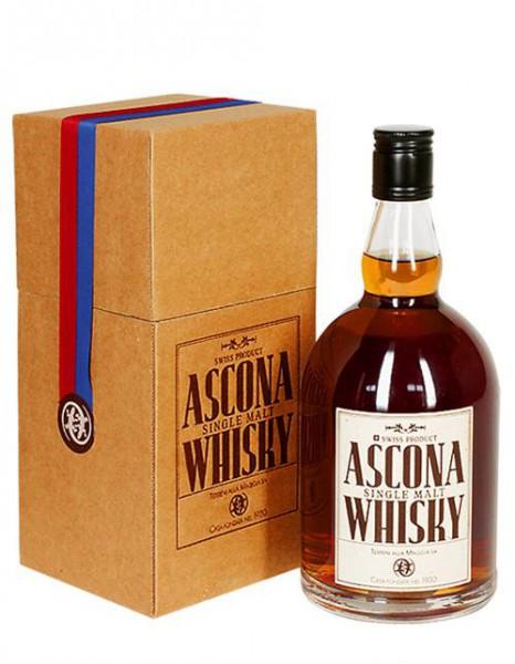 Ascona Whisky mit Geschenkverpackung