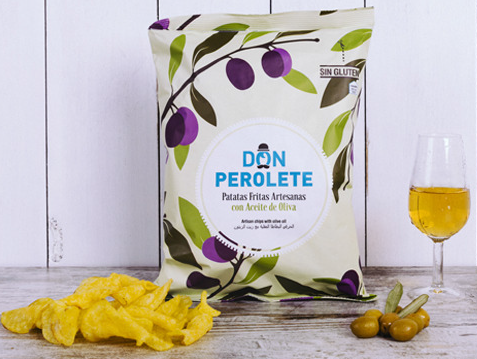 Chips Don Perolete Olivenoel, Cadiz 150g