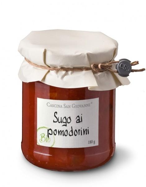 Sugo aus Cherrytomaten Bio 180g