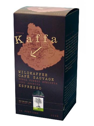 Kaffa Wildkaffee Espresso 16 E.S.E. Pads