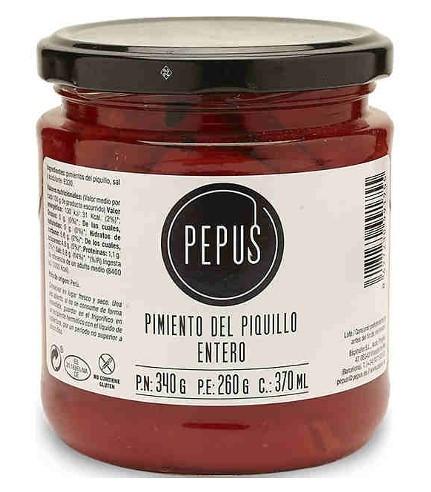 Pimientos del Piquillo / geröstete Paprika 260 g