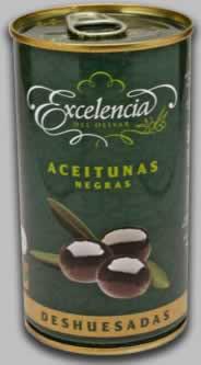 Oliven schwarz entsteint 150g
