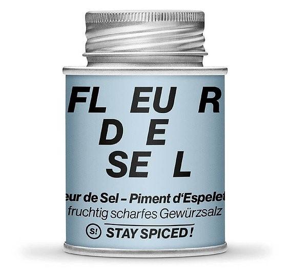 Fleur de Sel - Flor de Sal - Piment d'espelette, 170 ml