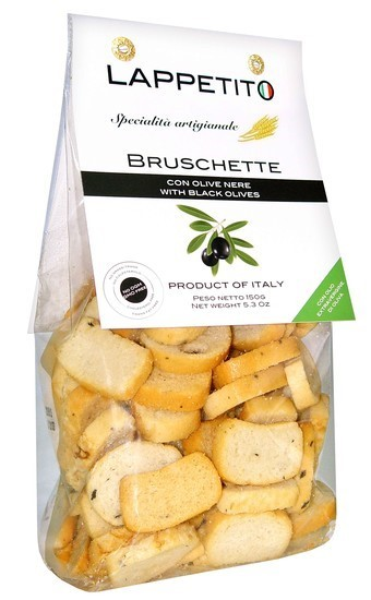 Bruschetta Olive Nere 150g