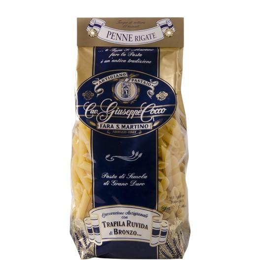 Penne Rigate - Hartweizengriess 500 g