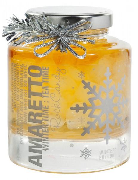Tee-Kandis Amaretto ohne Alkohol (Winter-Editon) 250g