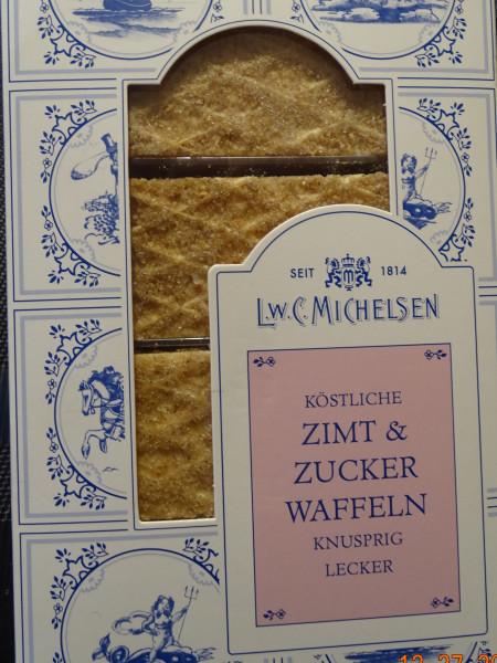 Zimt & Zucker-Waffeln 125 g