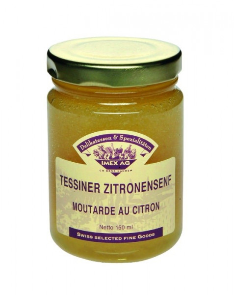 Tessiner Zitronensenf 150 ml