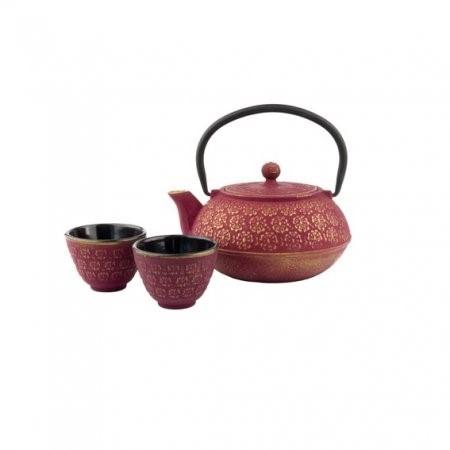 Teeset Shanghai pink/gold 0.6Liter G015PG