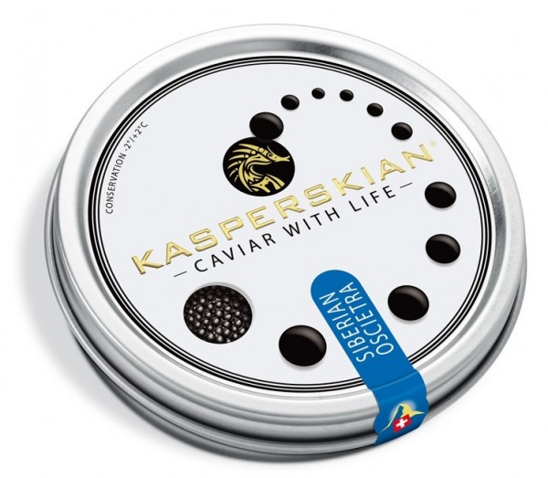 Siberian Oscietra Caviar with Life - PREMIUM Selection 20 gr.