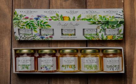 Honig Set Kollektion aus aller Welt 5 x 50 g