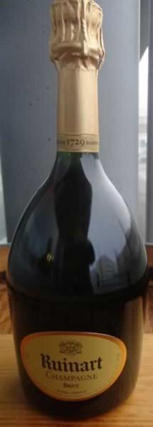 """Champagner """"R"""" de Ruinart Brut 75cl"""