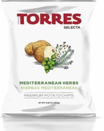 Chips Torres Selecta Mediterrane Kräuter 150 g